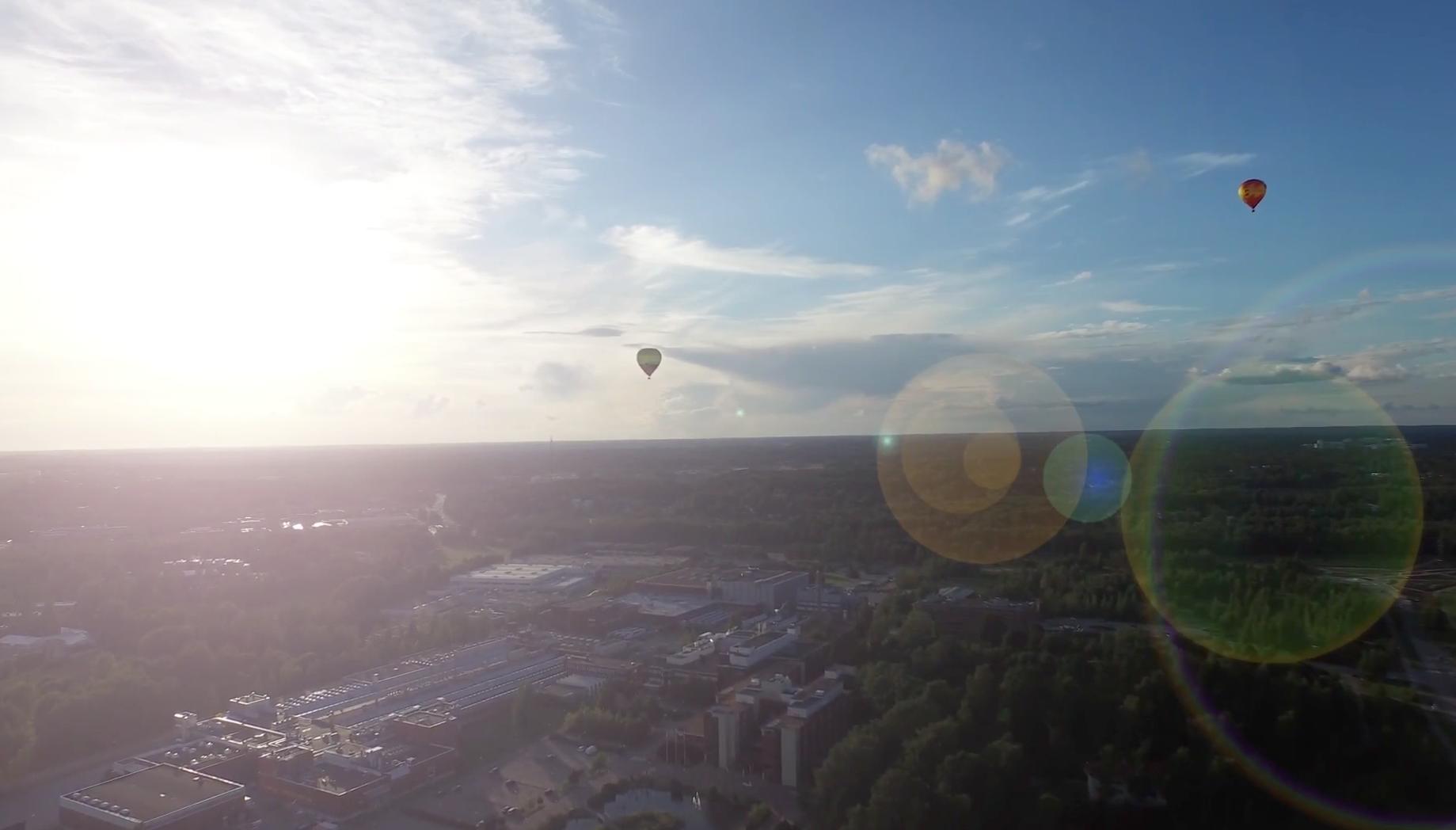 Video Espoosta – visuaalinen tarina abstrakteista aineksista