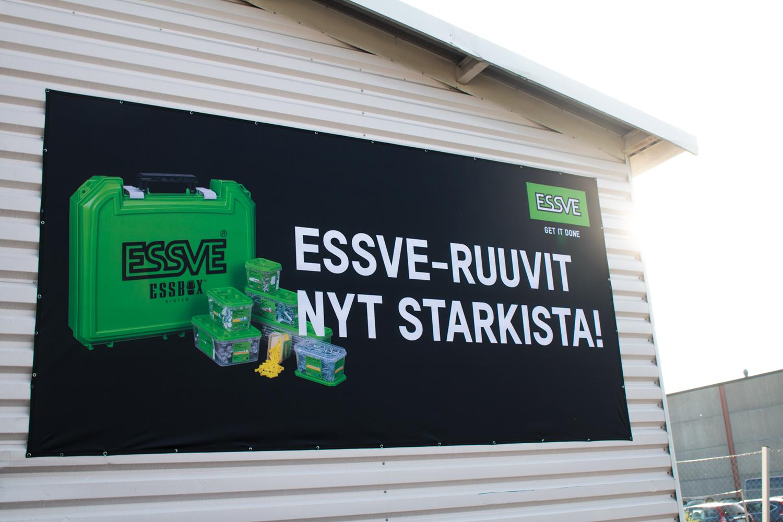 ESSVE – brändin lanseeraus piirustuspöydältä seinille