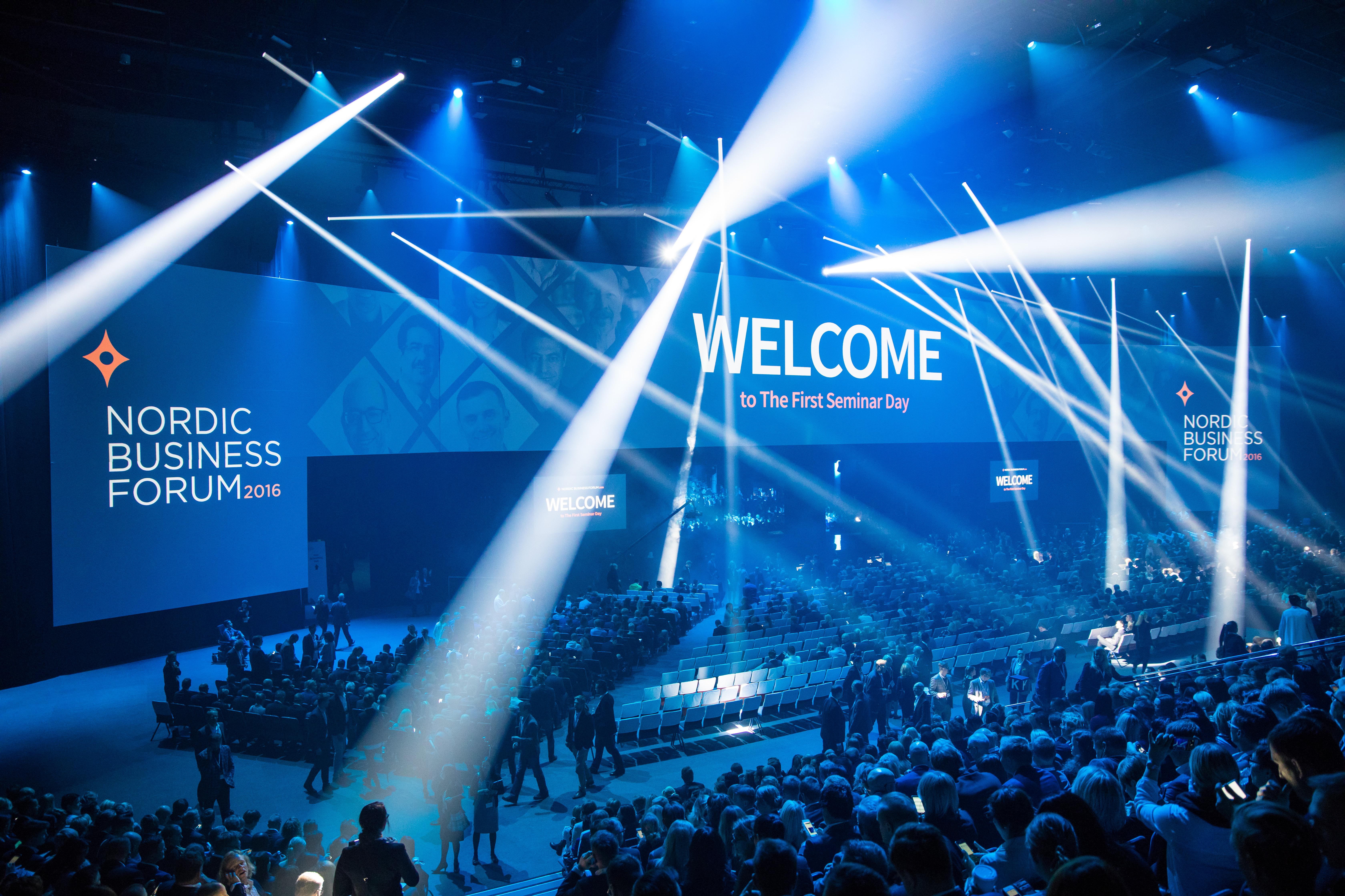 Mitä Nordic Business Forum opetti viestinnästä, part une?