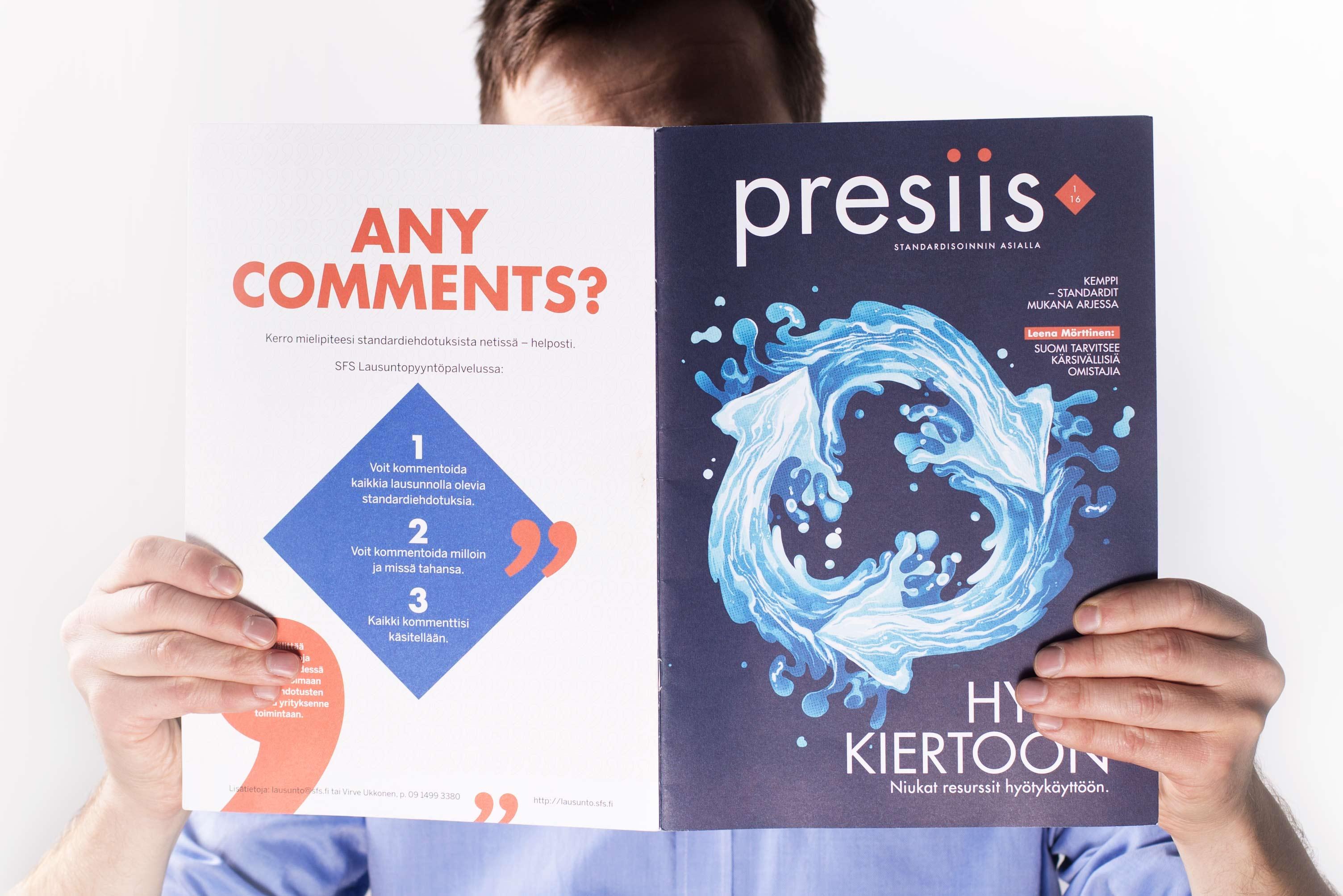 Presiis-lehti pokkasi ProComin Lehtikatsauksessa pronssia