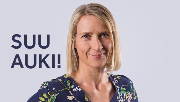 Hävikkiviikko-kampanjan äiti Annikka Koivu haluaa yritysten kertovan vahvuuksistaan muillekin